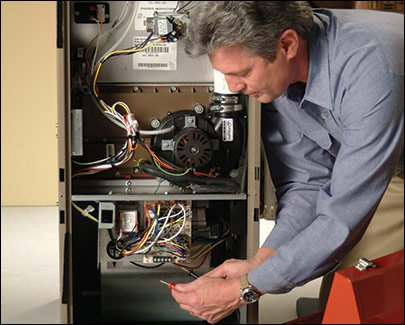 furnace annual service and furnace cleaning