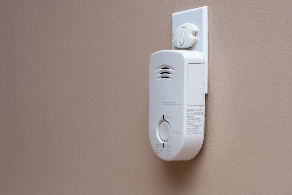 co detector wall plug in