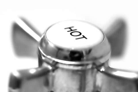 hot water tap